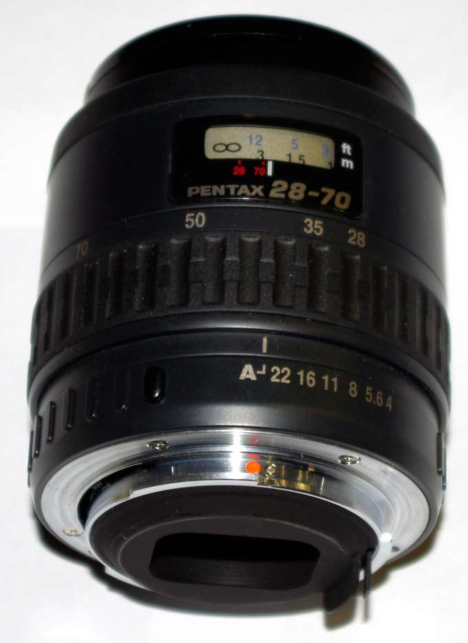Внешний вид обектива SMC Pentax 28-70/1:4 AL