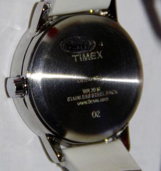 Timex T2h391 задняя крышка часов с серийным номером