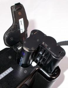 Адаптер Pentax D-BH109 установленный в камеру