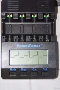 """Лицо"" зарядки PowerFocus BC-1000"