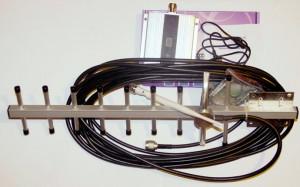 Полнyй комплект усилителя с направленной антенной